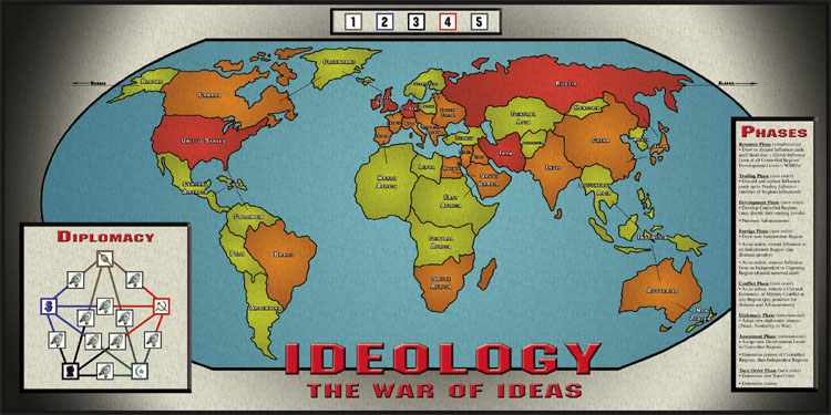 Ideology the war of ideas ideology map publicscrutiny Image collections
